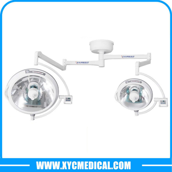 YCZF700500 Ceiling Mounted Double Heads Halogen Surgical Light