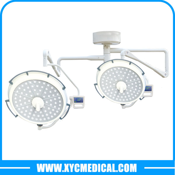 YCLED700500 Ceiling Mounted Double Heads LED Surgical Light