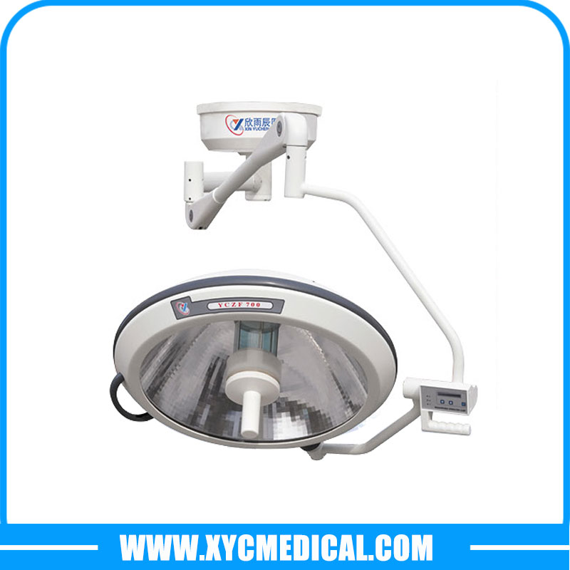 YCZF700 Ceiling Single Head Halogen Surgical Light
