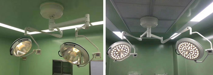 The Difference Between Halogen and LED Surgical Light in Operating Room